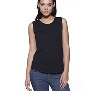 Ladies' CVC Sleeveless T-shirt Thumbnail